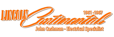 Lincoln Continentals | John Cashman Electrical Specialist Logo